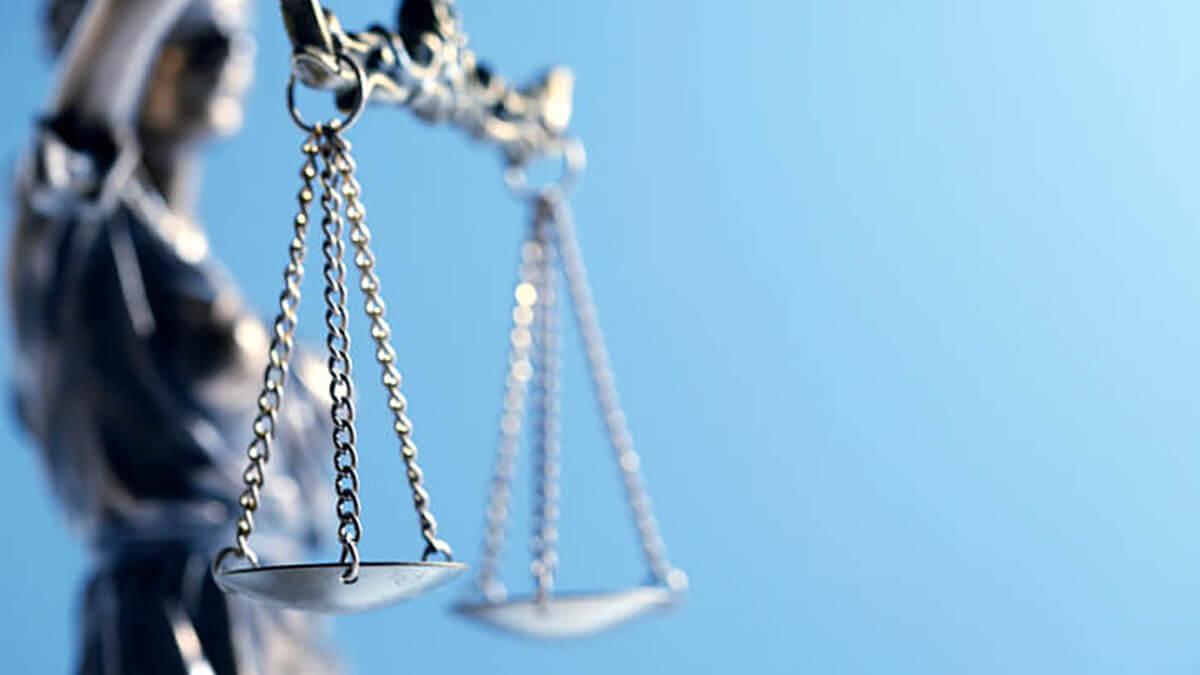 representación de la justicia como mujer