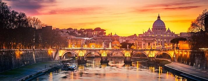 vista panoramica de Roma