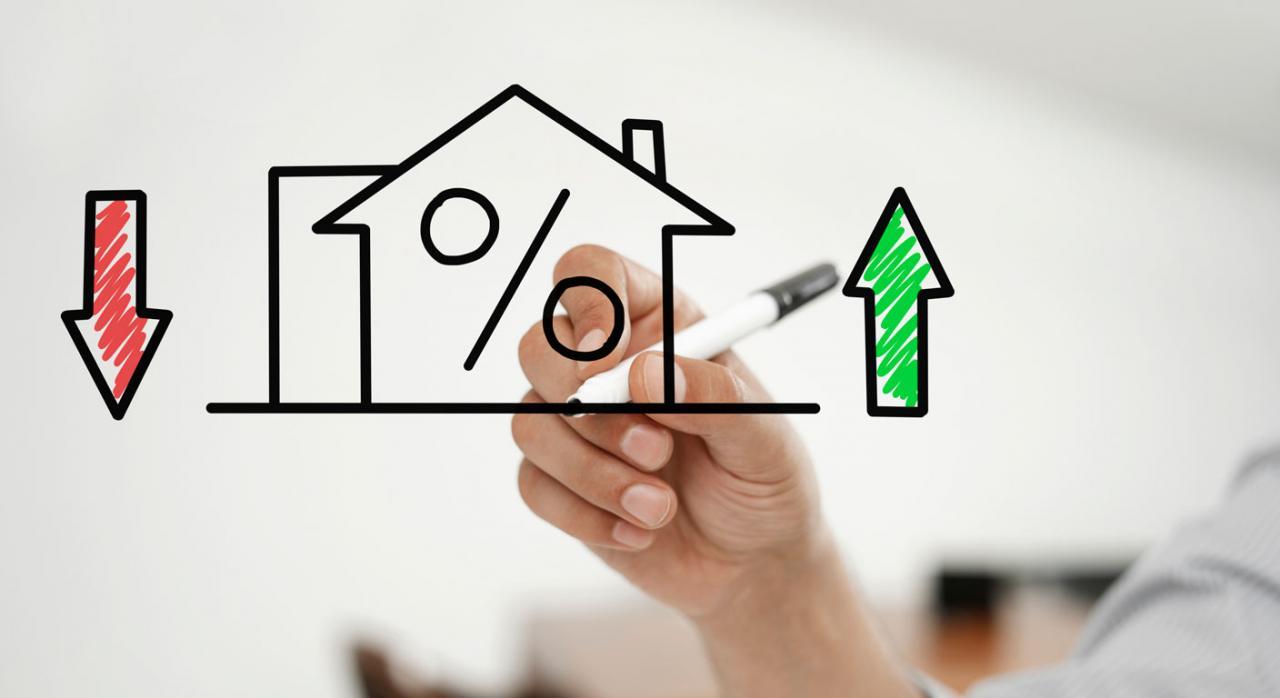 representación de una hipoteca