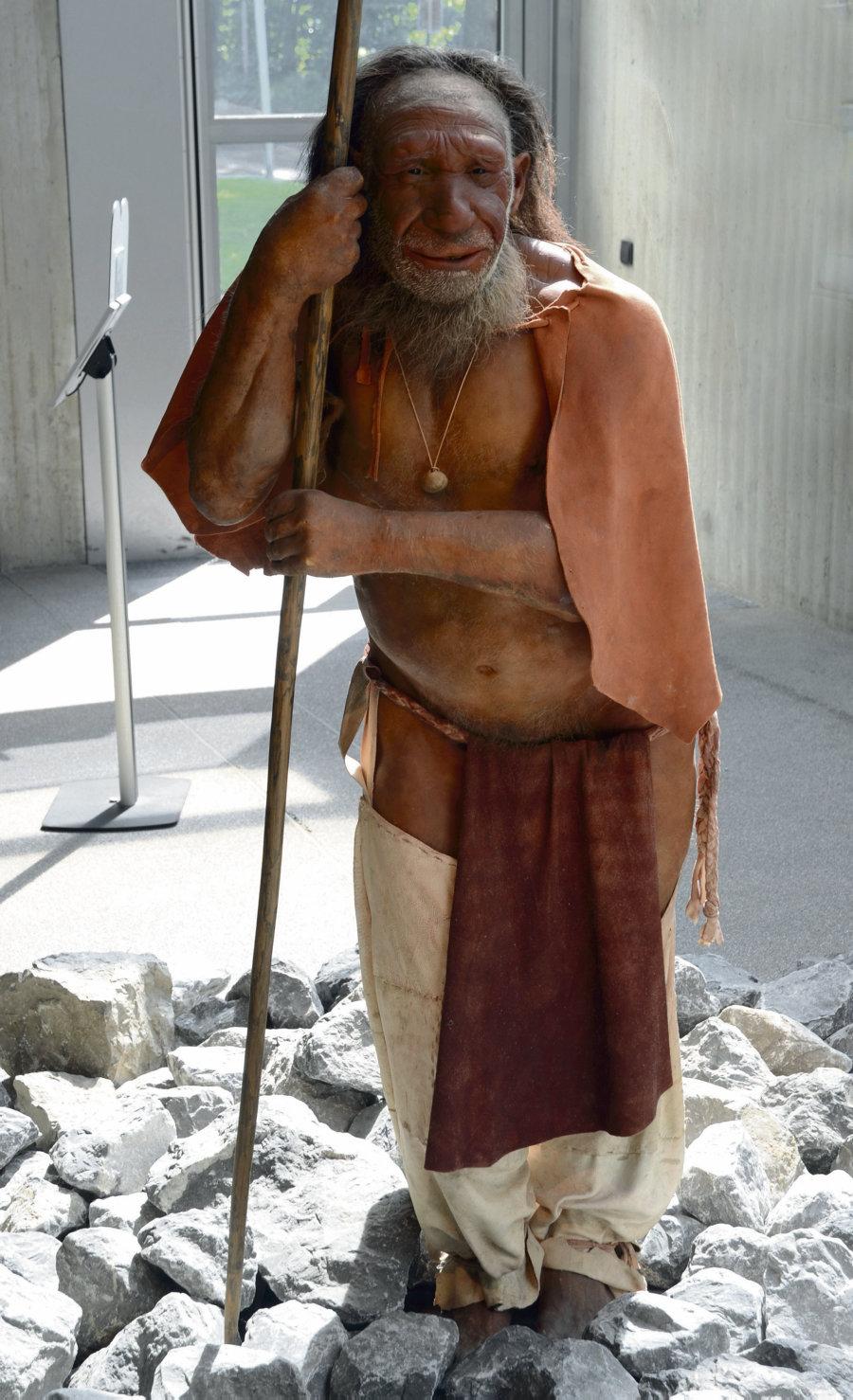 la ropa en la prehistoria