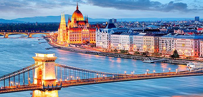 budapest: vista aerea