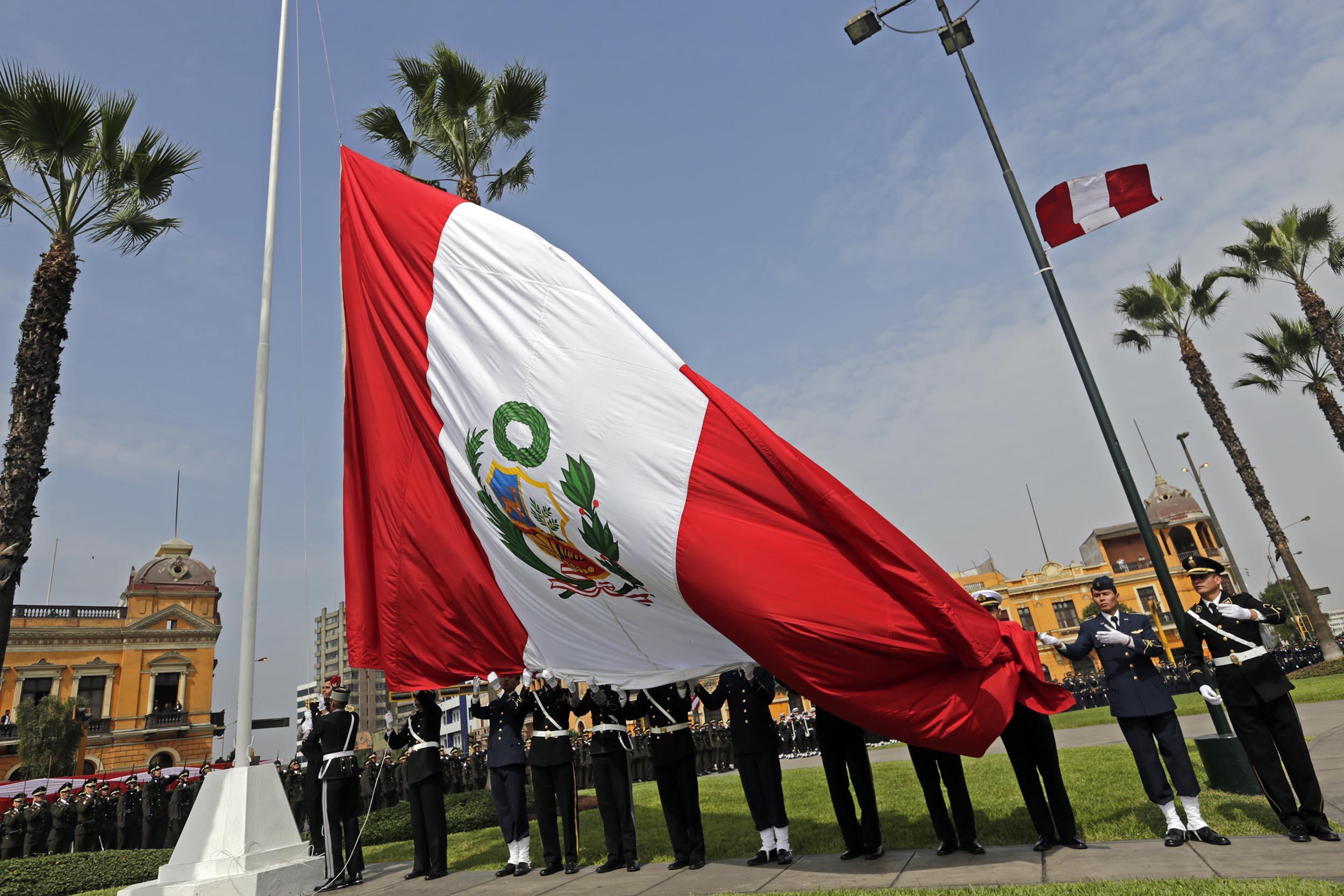 dia de la bandera peru