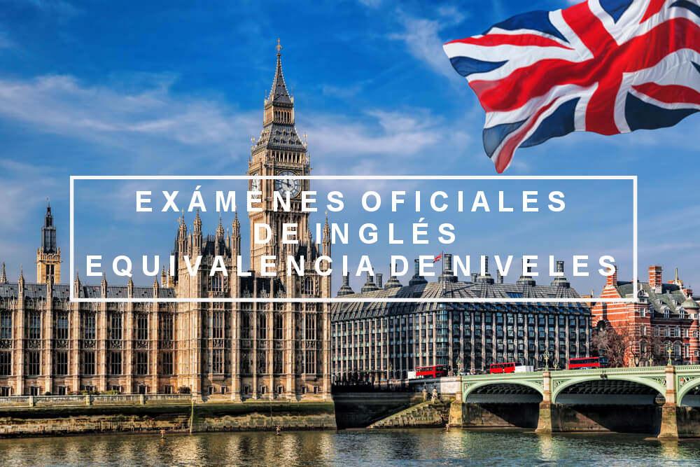Exámenes oficiales de inglés, equivalencia de niveles