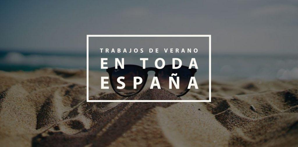 Trabajos de verano en toda España