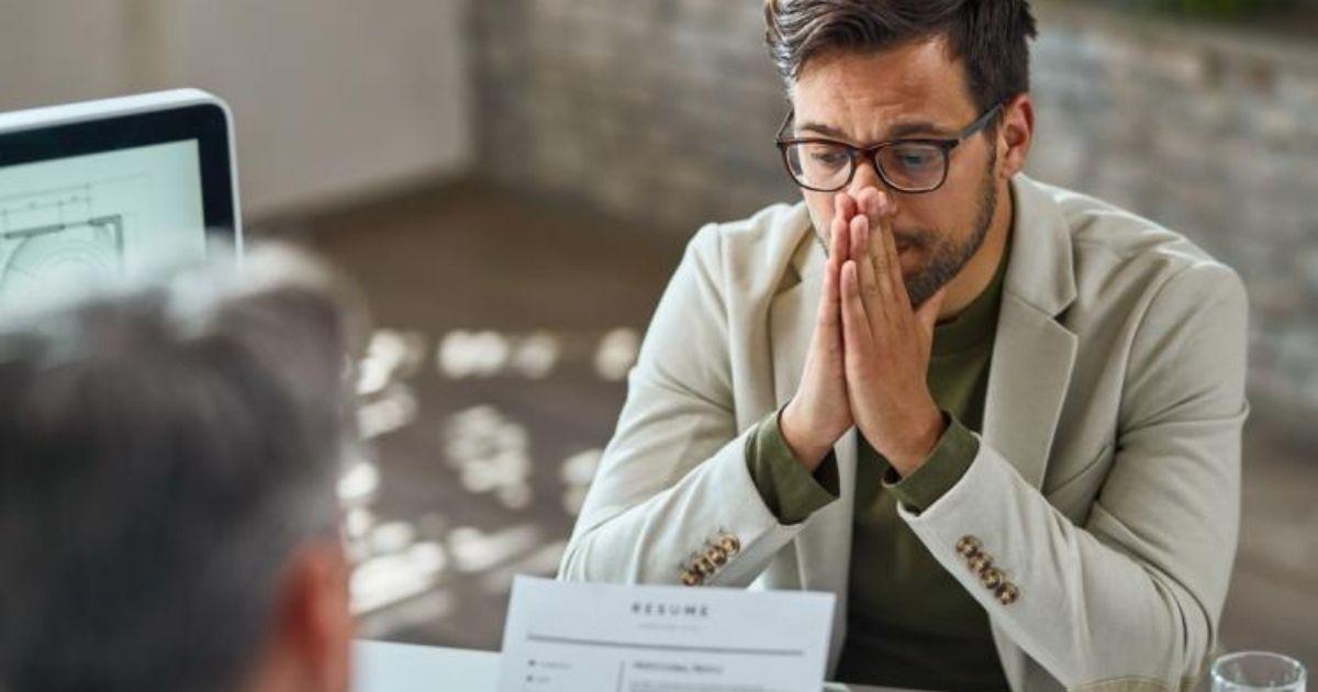 nervios en una entrevista de trabajo
