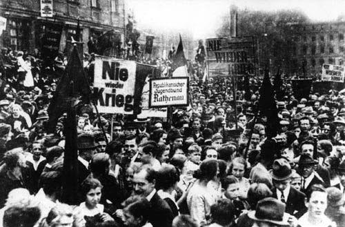 imperio aleman: revolucion de noviembre de 1918