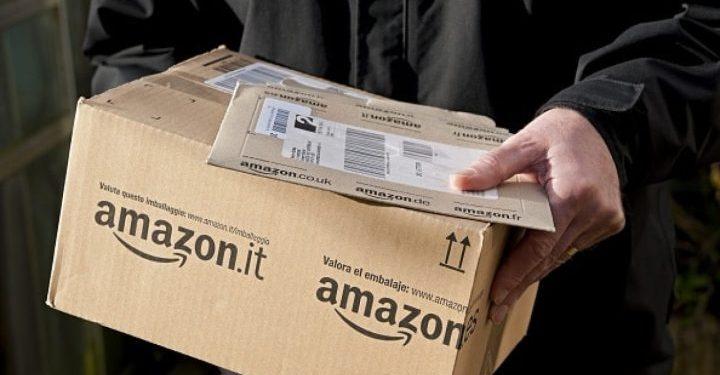 Empleo como repartidor en Amazon