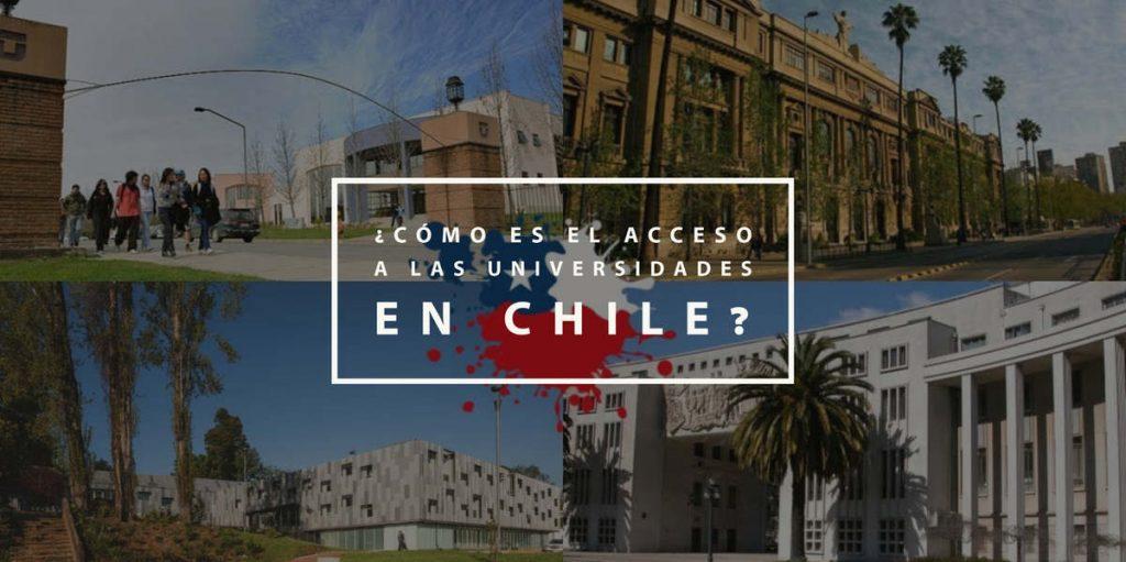 ¿Cómo es el acceso a las universidades en Chile?