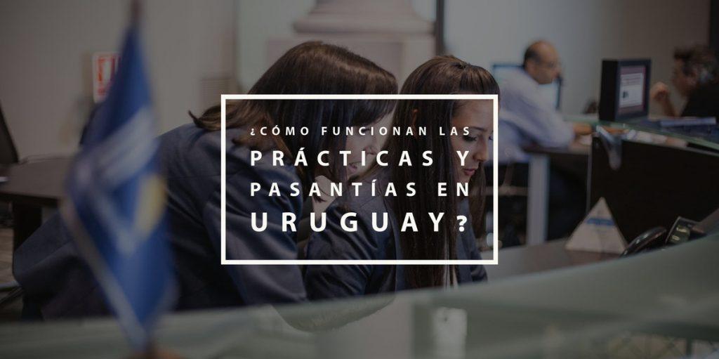 ¿Cómo funcionan las prácticas y pasantías en Uruguay?