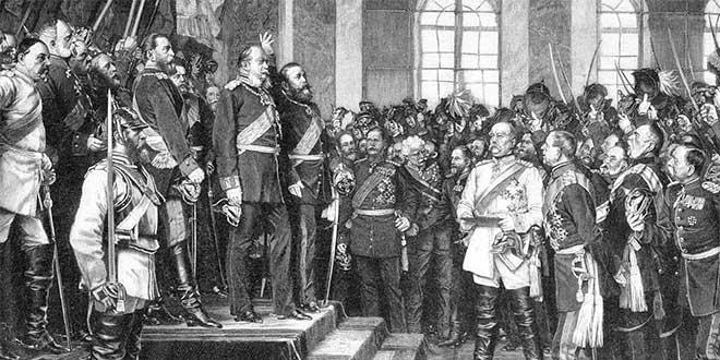 imperio aleman, unificacion