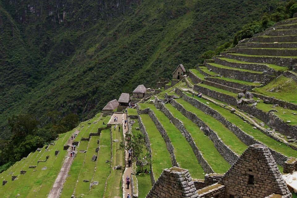 terrazas aztecas