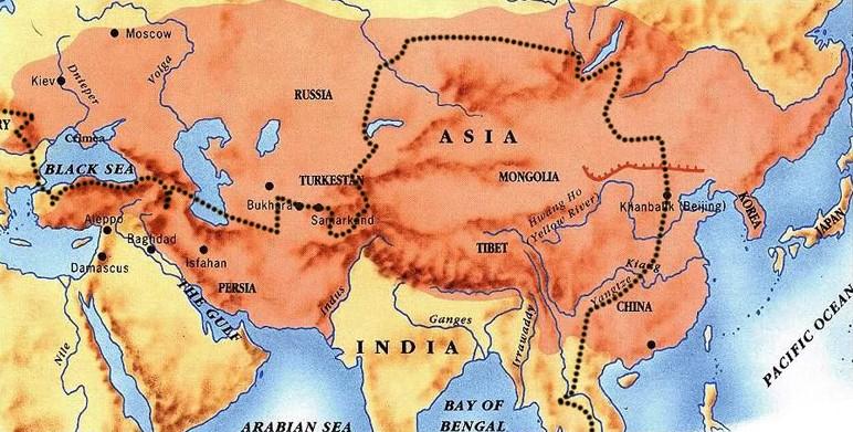 Efectos del dominio mongol