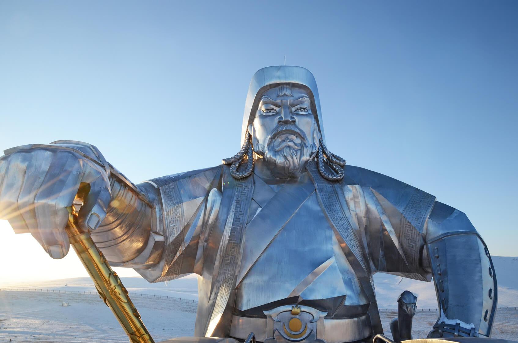 imperio mongol: gengis kan