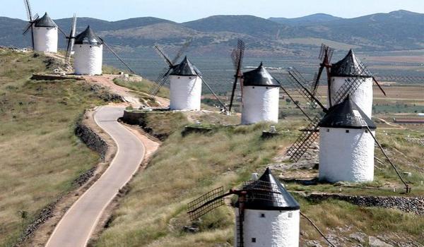 Mapa Castilla la Mancha