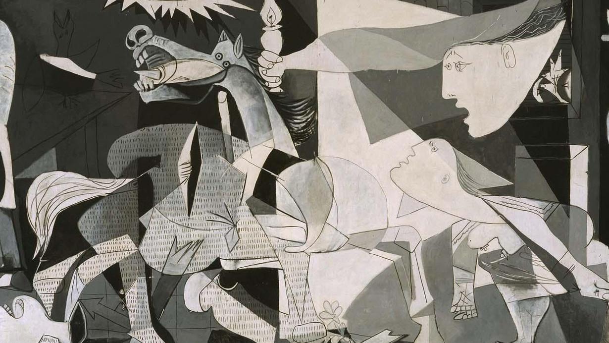 la edad contemporanea, cubismo