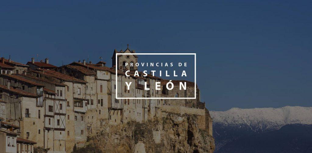 Provincias Castilla y León