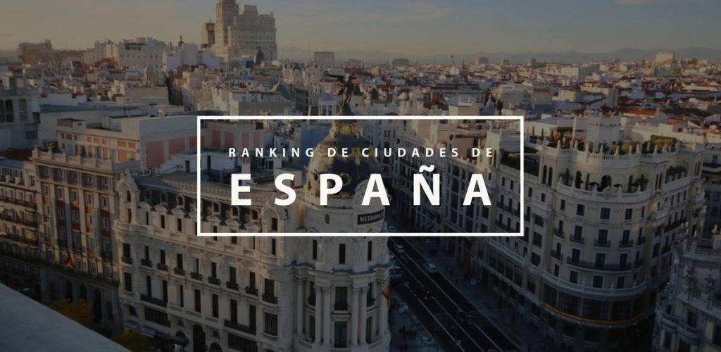 Ranking de ciudades de España