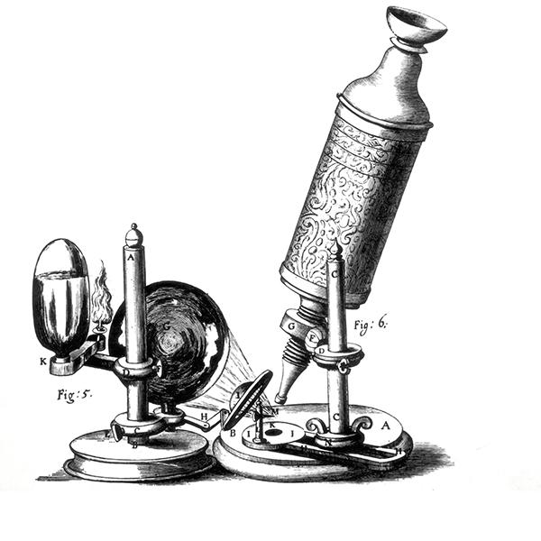 la edad moderna: el microscopio