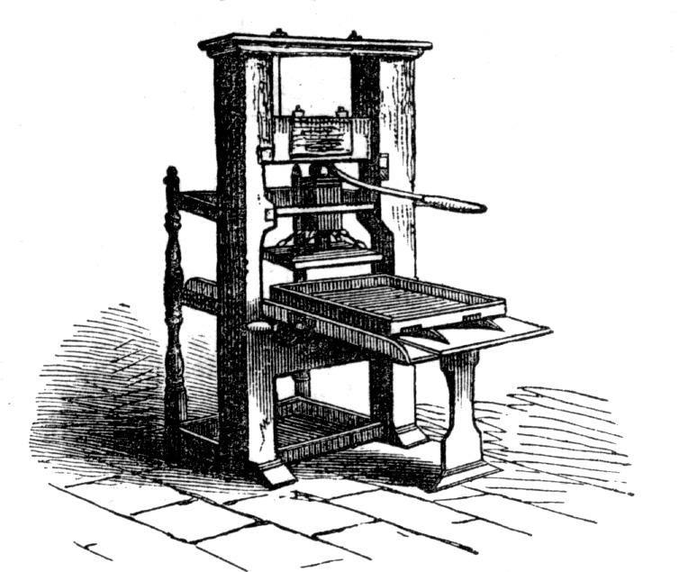 la edad moderna: la imprenta