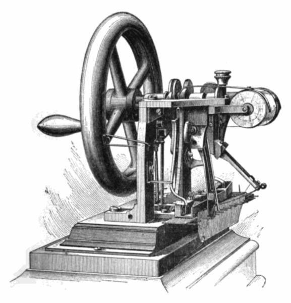 la edad moderna: maquina de coser