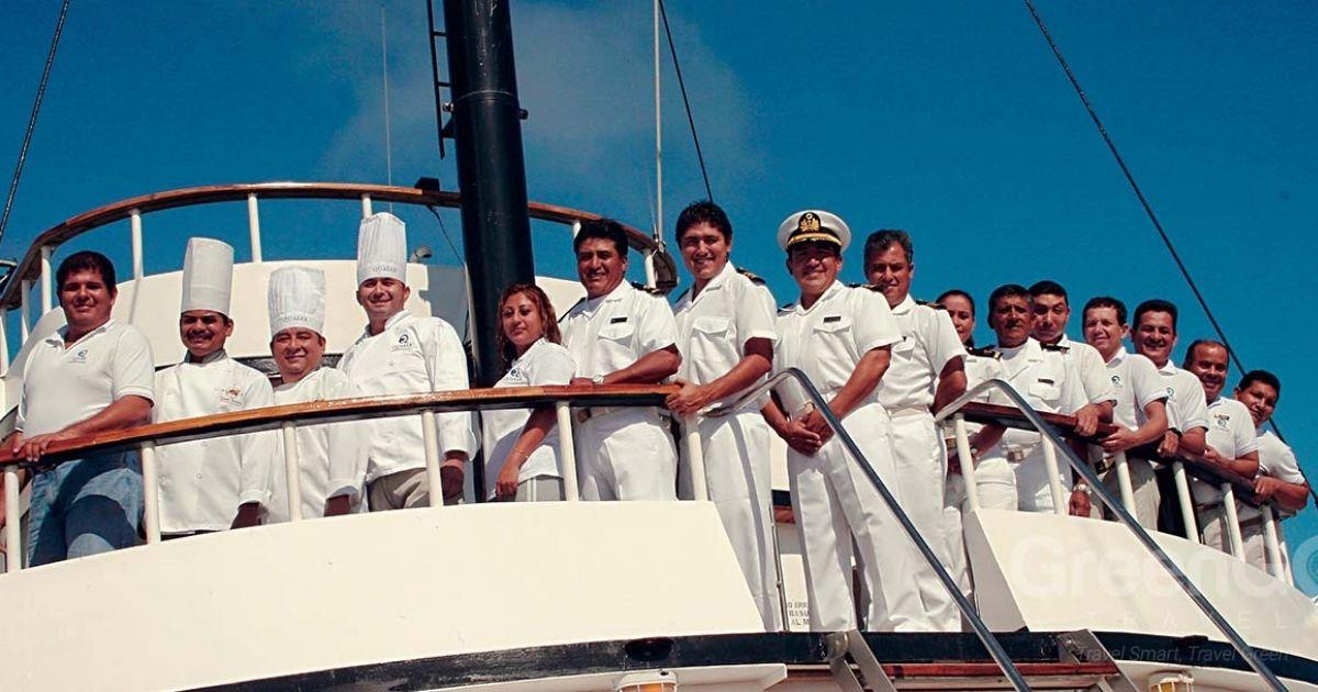 ¿Cuáles son los puestos de trabajo en un crucero?