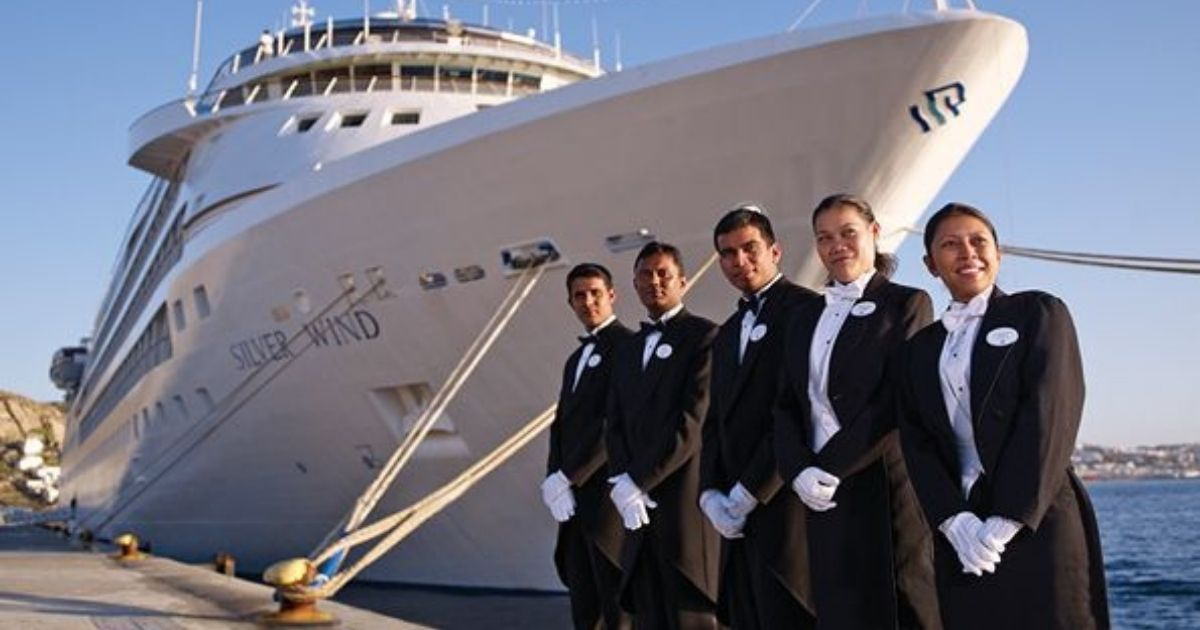 Trabajar en cruceros