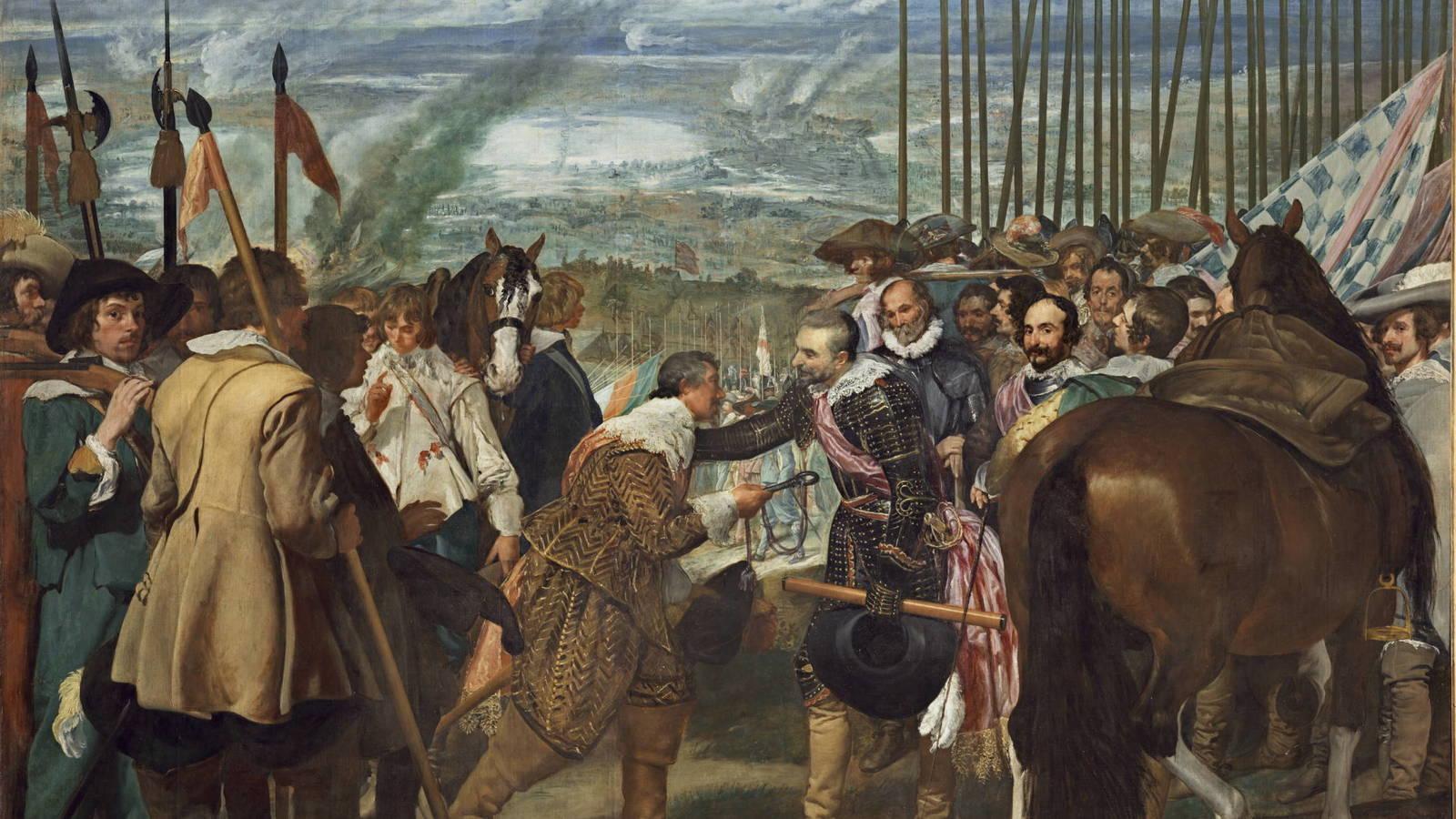 La rendicion de breda de Velazquez