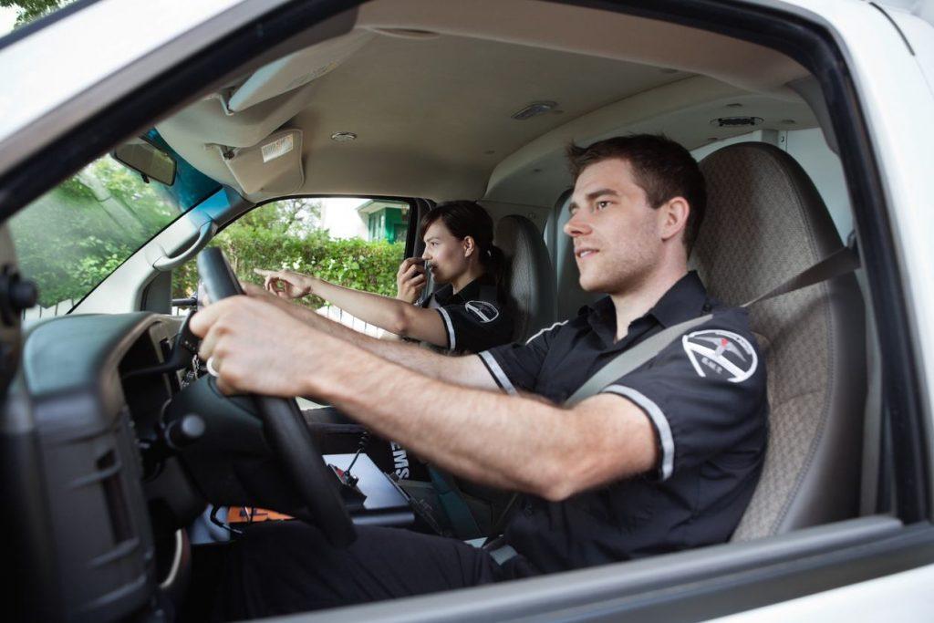 como ser conductor de ambulancias
