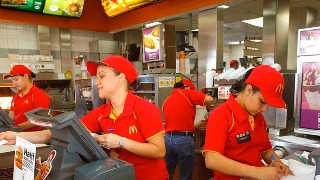 trabajar en mcdonalds